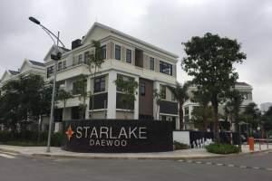 Bán lô góc biệt thự song lập khu K3 Starlake Tây Hồ Tây