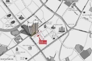 Cập nhật tiến độ xây dựng chung cư DLC Complex Nguyễn Tuân tháng 3/2020