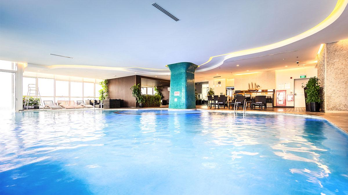 bể bơi Chung cư 1152 đường Láng 2