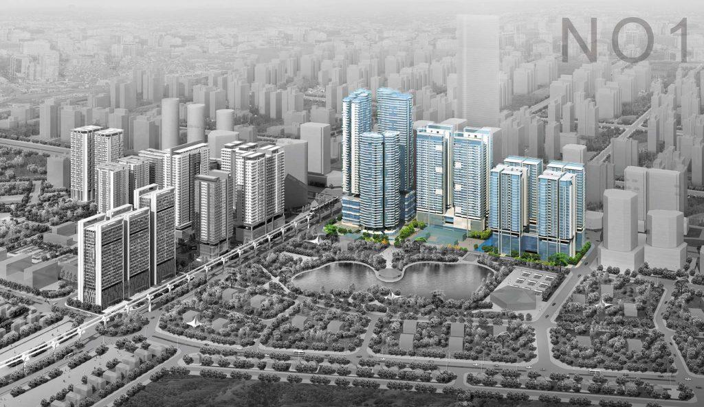 Chung cư N01-T6,T7