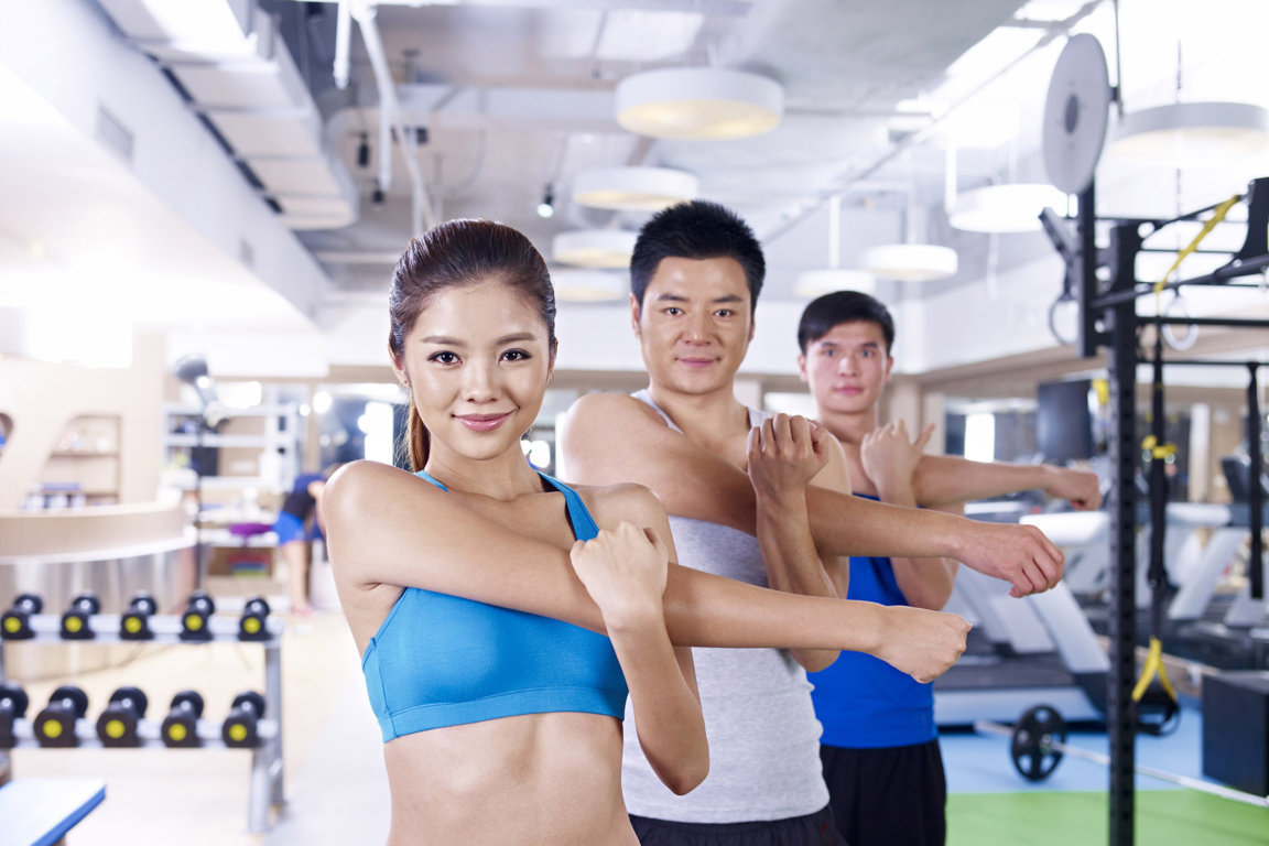 Phòng tập Gym hiện đại, với đầy đủ máy thiết bị tiêu chuẩn quốc tế, dành riêng cho cư dân