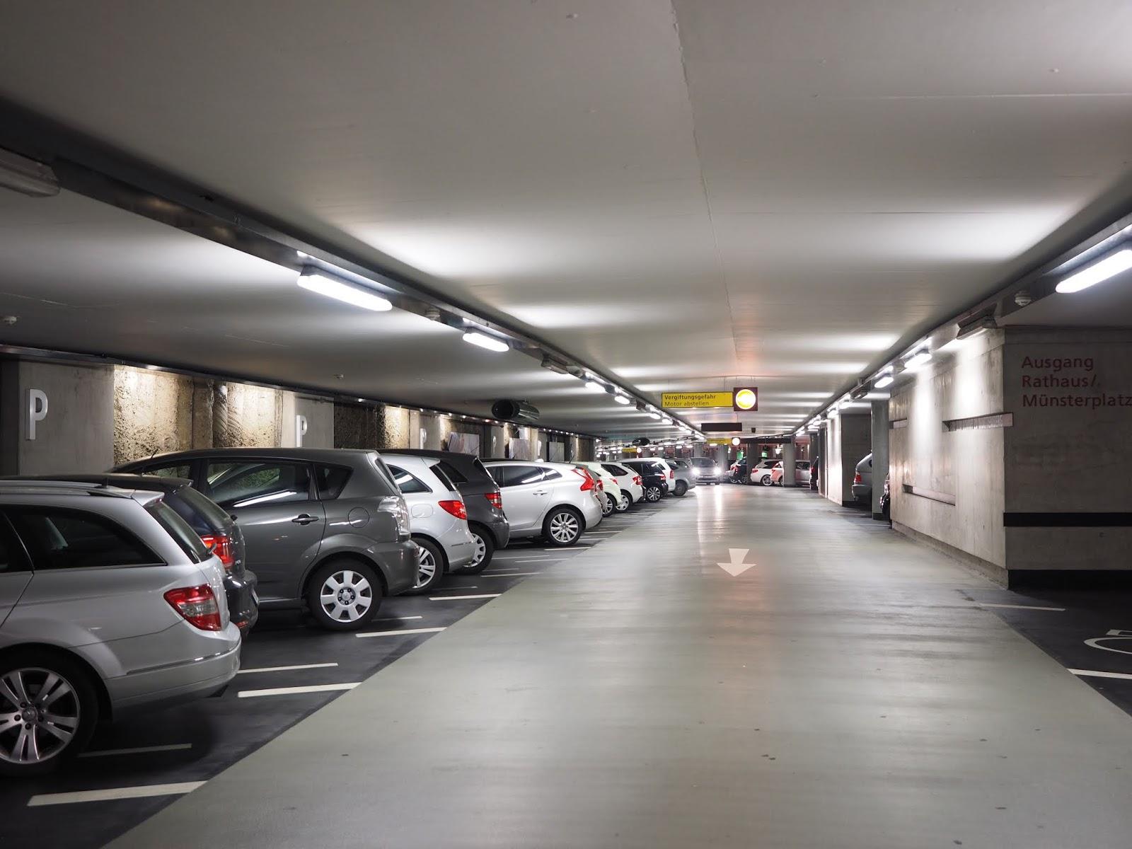Tầng hầm chung cư BRG Grand Plaza 16 Láng Hạ