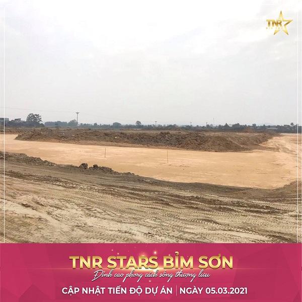 Tiến độ dự án TNR Bỉm Sơn Thanh Hóa T3.2021