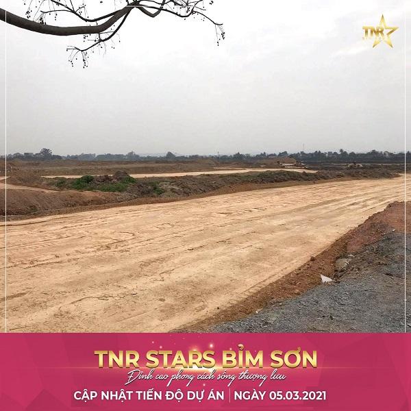 Tiến độ dự án TNR Bỉm Sơn Thanh Hóa T3.2021.
