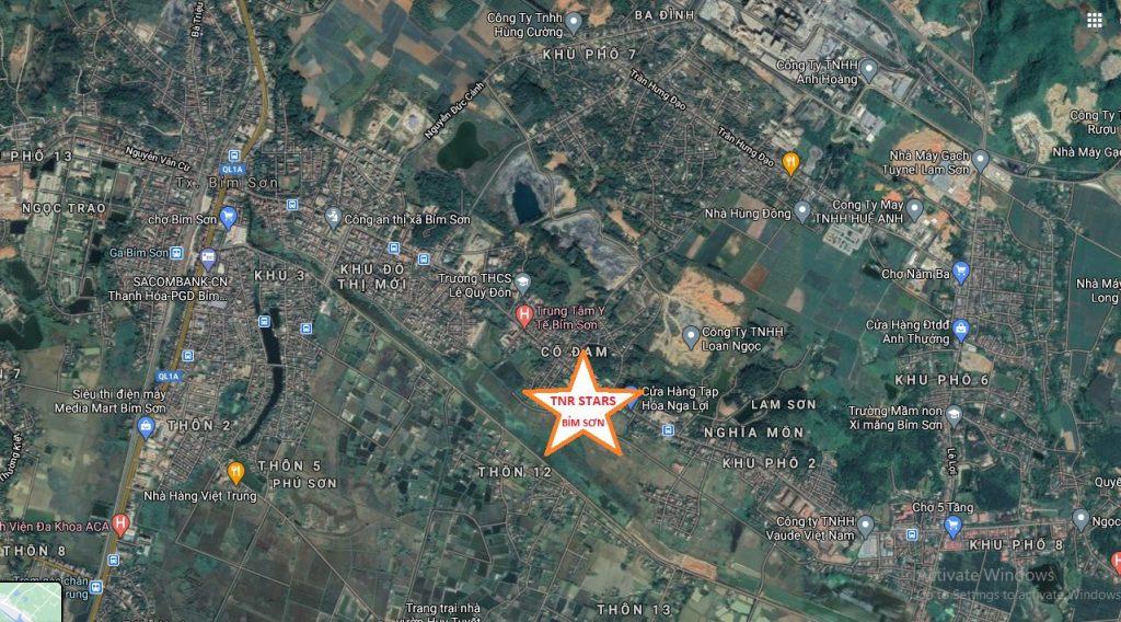 vị trí dự án TNR Bỉm Sơn