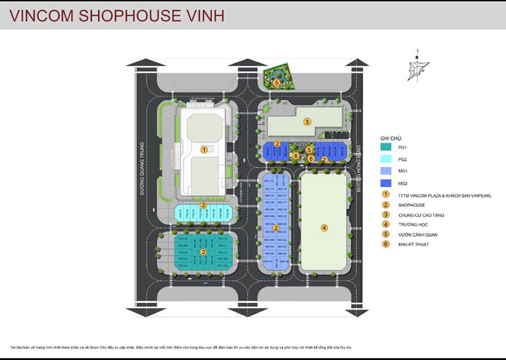 vincom shophouse Vinh